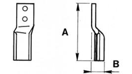 Zappette per Breviglieri verticalfresa 60