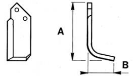 Zappette per frese Nibbi G 519 ultimo tipo