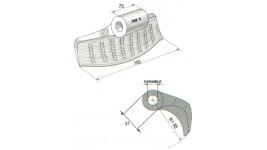 Mazze per trincia RM5