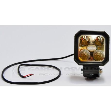Fanali lavoro quadrato a 4 LED